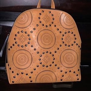 Handbags - NWT Faux Leather Studded backpack